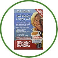 Bell Lifestyle Products Bladder Control Tea For Women